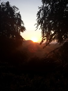 Sunrise from Bell Hill