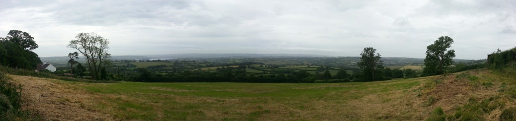 Looking South over the Chew Valley