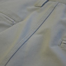 Double Welt Rear Pockets