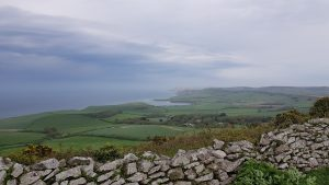 The view from Swyre Head.