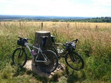 Trig point at Beacon Hill